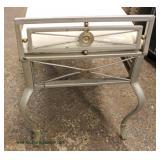 Iron Base Decorator Window Bench  Auction Estimate $50-$100 – Located Inside