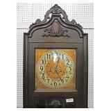 VINTAGE Mahogany Case Grandmothers Clock  Auction Estimate $100-$300 – Located Inside