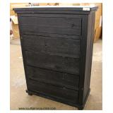 NEW Rustic Style High Chest  Auction Estimate $100-$300 – Located Inside