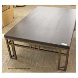 NEW Industrial Style Coffee Table  Auction Estimate $100-$300 – Located Inside
