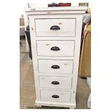 NEW Country Rustic Style 5 Drawer Lingerie Style Chest  Auction Estimate $100-$300 – Located Inside