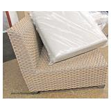 NEW All Season Weather Wicker Conversational Group Patio Set  Auction Estimate $600-$1200 – Located