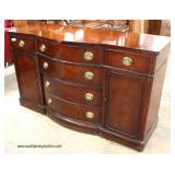 "Mahogany ""Drexel Furniture"" 7 Piece Kitchen Dining Set – Table has Custom Glass Top  Auction Estima"