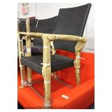 """NEW """"Set of 8"""" Wicker Patio Chairs with Cushions by """"RST Furniture""""  Auction Estimate $400-$800 – L"""
