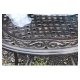 NEW Round 5 Piece Patio Set – (you put together)  Auction Estimate $100-$400 – Located Inside