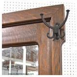 ANTIQUE Quartersawn Oak Lift Top Hall Rack  Auction Estimate $200-$400 – Located Inside