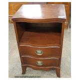 One of Several Mahogany Night Stands  Auction Estimate $40-$80 – Located Inside