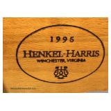 """3 Piece SOLID """"Henkel Harris Furniture"""" Cherry Queen High Poster Bedroom Set  Auction Estimate $100"""