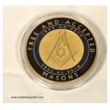 RARE Good Samaritan Lodge No. 336 F.&A.M. Gettysburg, PA. Freemason Coin  Auction Estimate $10-$20