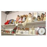 Shelf Lot and Box Lots of Collectibles  Auction Estimate $20-$100 – Located Inside