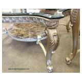 Set of 3 Italian Living Room Tables  Auction Estimate $100-$400 – Located Inside