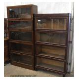 Selection of ANTIQUE Barrister Bookcases  Auction Estimate $100-$400 per bookcase – Located Inside