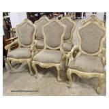 Contemporary 8 Piece French Style Dining Room Set  Auction Estimate $300-$600 – Located Inside