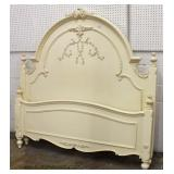 Contemporary 7 Piece White Queen Bedroom Set  Auction Estimate $300-$600 – Located Inside