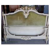 Selection of VINTAGE French Style Upholstered Beds with Rails  Auction Estimate $100-$300 each – Lo