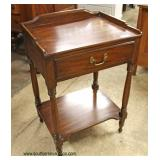 """SOLID Cherry """"Henkel Harris Furniture"""" 1 Drawer Night Stand  Auction Estimate $100-$300 – Located I"""