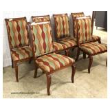 """8 Piece Cherry """"Ethan Allen Furniture"""" Banded and Inlaid Dining Room Set  Auction Estimate $400-$80"""