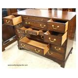 """SOLID Mahogany """"Kittinger Furniture"""" Multi Drawer Chest  Auction Estimate $300-$600 – Located Insid"""