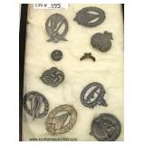 Display of German Medals  Auction Estimate $50-$100 – Located Inside
