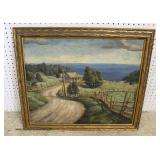 Oil on Canvas Signed F.O. Finoadio '38  Auction Estimate $200-$400 – Located Inside