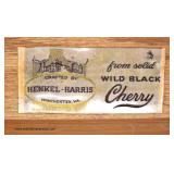 "— BEAUTIFUL —  SOLID Wild Black Cherry ""Henkel Harris Furniture""3 Drawer Taper Leg Brandy Board  Au"