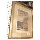 Large Collection of Artwork including engravings, posters, pictures, water colors,  etchings, print