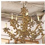 Selection of ANTIQUE Bronze Chandeliers  Auction Estimate $300-$1000 – Located Inside