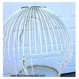 Large Metal Decorator Bird Cage (approx.. 4' ft)  Auction Estimate $200-$400 – Located Out Front