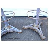 Set of 4 Cast Iron Tractor Seat Stools  Auction Estimate $25-$100 each – Located Out Front