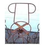 Set of 4 Metal Chairs  Auction Estimate $20-$50 each – Located Out Front
