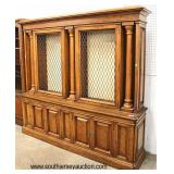 VINTAGE Burl Walnut 2 Mesh Front Door Display Cabinet Bookcase  Auction Estimate $200-$400 – Locate