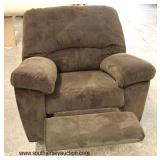NEW Upholstered Recliner  Auction Estimate $100-$300 – Located Inside