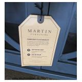 "NEW ""Martin Furniture"" Decorator Media Cabinet  Auction Estimate $200-$400 – Located Inside"