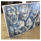 NEW Contemporary Large Wall Painting  Auction Estimate $100-$200 – Located Inside