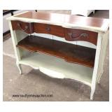 "NEW ""Furniture Classic Limited Norfolk, VA"" French Provincial Style One Drawer Decorator Sever  Auc"