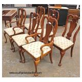"8 Piece ""American Drew Furniture"" Mahogany Ball and Claw Dining Room Set  Auction Estimate $400-$80"