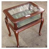 Mahogany Queen Anne Display Table  Auction Estimate $100-$200 – Located Inside