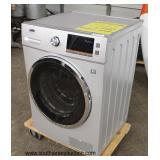 "NEW ""Summit"" SPWD2201SS Stainless Steel Front Load Washer  Auction Estimate $200-$400 – Located Ins"