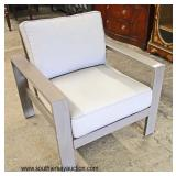 NEW Modern Design Lounge Chair  Auction Estimate $100-$300 – Located Inside