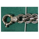 14 Karat White Gold Bracelet  Auction Estimate $300-$600 – Located Inside