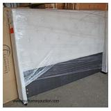 NEW Upholstered King Size Headboard  Auction Estimate $100-$300 – Located Inside
