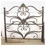NEW Full Size Victorian Style Metal Bed  Auction Estimate $100-$300 – Located Inside