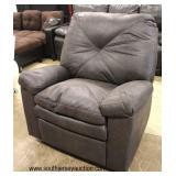 NEW Leather Style Recliner  Auction Estimate $100-$400 – Located Inside