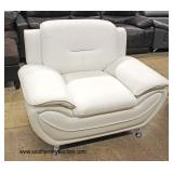 NEW Modern Design Leather Lounge Chair  Auction Estimate $200-$400 – Located Inside