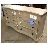 "NEW ""Riverside Furniture"" 6 Drawer Chest   Auction Estimate $100-$300 – Located Inside"
