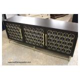 NEW COOL Modern Design Credenza   Auction Estimate $200-$400 – Located Inside