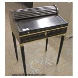 ANTIQUE French Empire Roll Top Ladies Desk with Applied Bronze   Auction Estimate $100-$300 – Locate