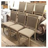 NEW Set of 6 Decorator Dining Room Chairs   Auction Estimate $200-$400 – Located Inside