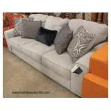 "NEW ""Bench Craft Furniture"" Decorator Sofa with Accent Pillows   Auction Estimate $200-$400 – Locate"