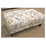 NEW Decorator Ottoman   Auction Estimate $100-$200 – Located Inside